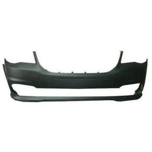 Hundreds of New Painted Dodge Grand Caravan Front Bumpers