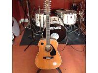 Yamaha fg-420-12a 12 string acoustic