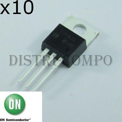 Tip102 Tip102g Transistor Npn 100v 8a To-220 Ons Rohs Set Aus 10 Oder 20