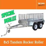 8x5 Tandem Rocker Roller Fully Weld Galvanized Trailer 2000KG 105 Dandenong Greater Dandenong Preview