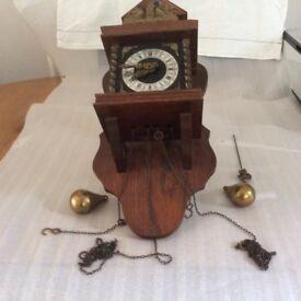 Old Dutch pendulum wall clock
