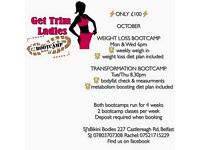 Ladies only bootcamps