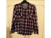 Ladies checked size 22 shirts