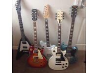 Electric guitar various Les Paul SG Flying V jaguar Epiphone Gibson vintage