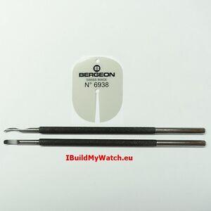 Zeigerabheber Hebelform + Bergeon Zifferblattschutz 6938 Watch Hand Removers