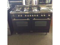 graded brittania dual fuel range 1200 wide