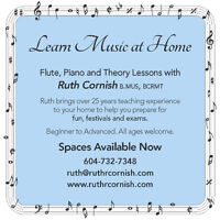 Learn Music At Home — Flute, Piano, and Theory Lessons