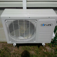 Air conditioner climatiseur/ Thermopompe mural / neuf