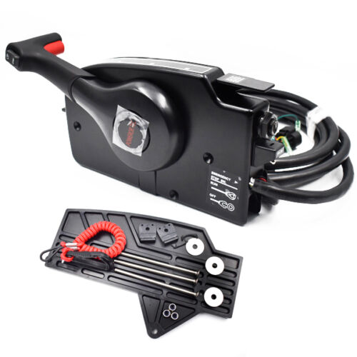 Mercury Outboard Engine Side Mount Remote Control Box With 14 Pin Spiffy PREETY