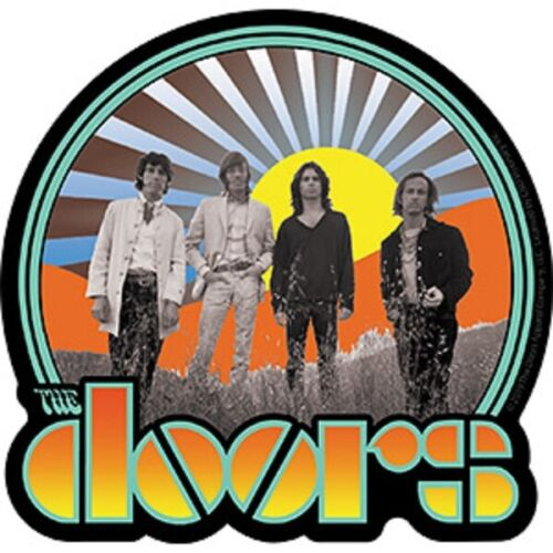 The Doors - Sticker - Waiting For The Sun Logo - Licensed New