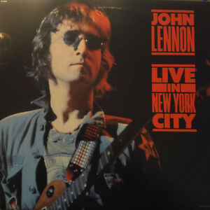 John Lennon - Live In New York - Vintage Vinyl LP