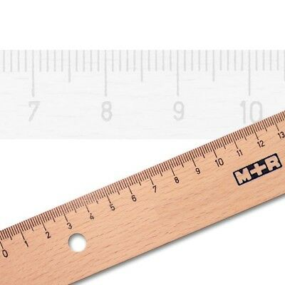 Holzlineal Buche 50 cm Möbius-Ruppert 1950 M+R Lineal aus Holz Buchenholz 50cm