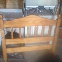 Twin bed frame in Kelowna