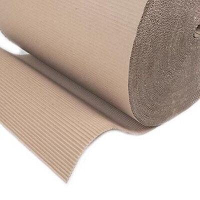 3x Corrugated Cardboard Paper Rolls 900mm (35.5