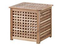 Hol ikea side table storage cube