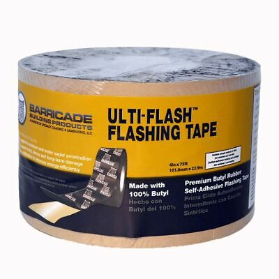 2-pack Barricade Ulti-flash Flashing Tape 4in75ft