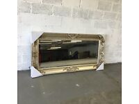 LARGE 7FT GOLD STUNNING MIRROR - FREE DELIVERY - RRP £200