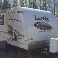 Candle Lake seasonal site and camper for sale
