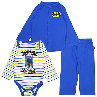 Kids with Character Batman 3 Piece Winter Outfit