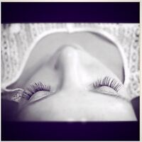Eyelash Extensions by certified Lash Artist