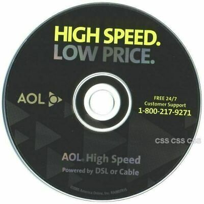 Low Price Online (America Online AOL 9.0 High Speed Low Price Software CD Black with)