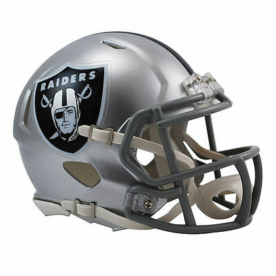 Oakland Raiders Revolution - NFL Oakland Raiders Riddell Revolution Mini Speed Helmet