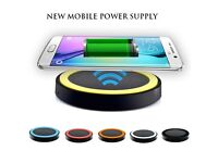 Boxed SmartPhones Wireless Charger Desk Top Charging Pad Mat Power Charger
