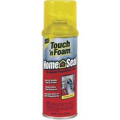 12 Pk Touch N Foam 12 Oz Amber Color Minimal Expanding Foam Sealant 4001012412
