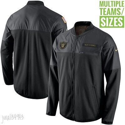 Salute to Service Jacket 2016 Nike NFL STS Mens Full Zip Hybrid Multiple Teams