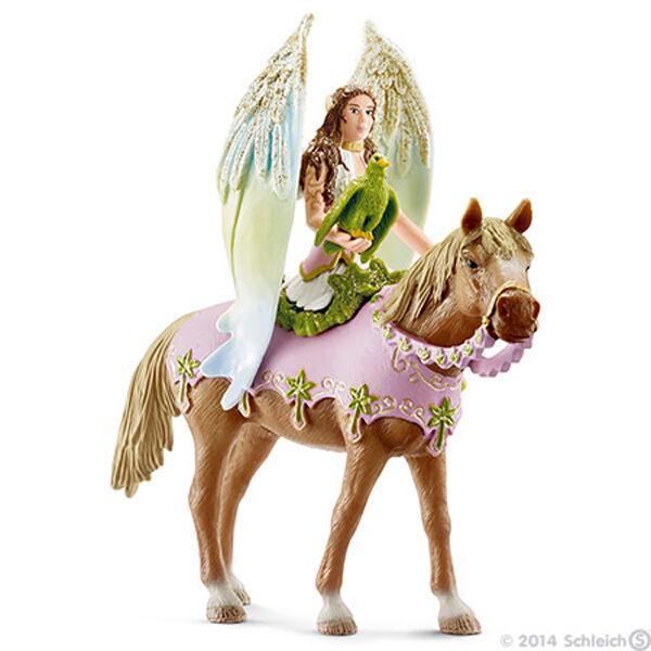 *NEW* SCHLEICH 70416 Surah Sun Elven Rider RETIRED - elf fairy model figurine