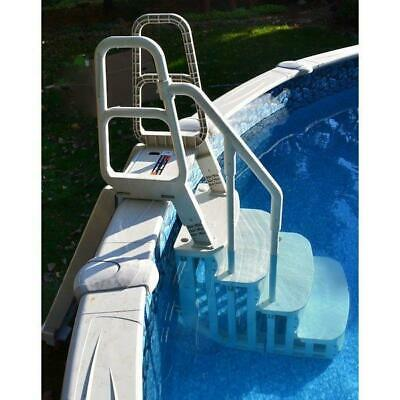 """Main Access Smart Step - 4 Step Entry for 48""""-54"""" Pool Walls, 200600T 200600T"""