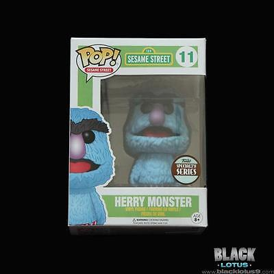NEW RARE Funko Pop! Specialty Series Sesame Street Herry Monster 11