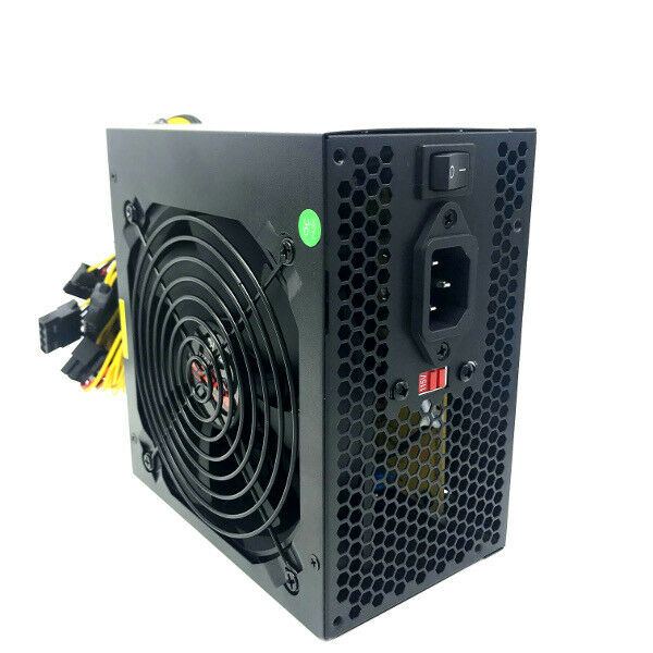 850W Gaming Large Fan Guard Grill Silent ATX Power Supply 24//8 Pin PCI-Express