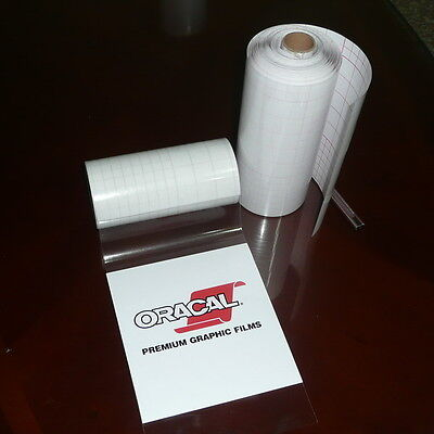 12  X 100 Ft Roll  Medium Tack  Clear Application Transfer Tape  For Craft Vinyl