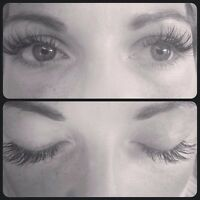 doll face lashes (eyelash extensions)