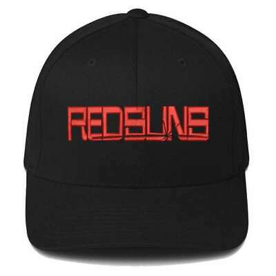 New Akagi Redsuns Initial D Embroidered Cap Fit T-Shirt Embroidery Hat