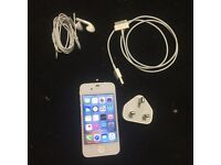 Apple iphone 4s white 16gbO2/giffgaff/tesco networks