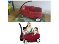 Step 2 Double kids pull along wagon