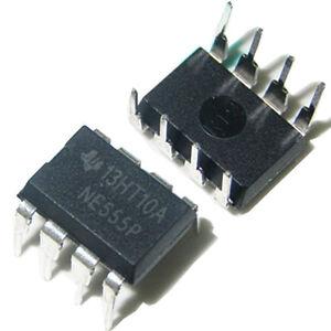 10Pcs NE555P NE555 DIP-8 Single Bipolar Precision Timers IC Assurance Sales L
