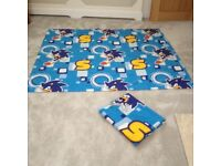 Sonic Hedgehog Curtains