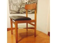 Retro Vintage Schreiber Drop Leaf Dining / Kitchen Table and 6 chairs.