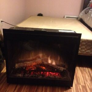 Electric fireplace deal!