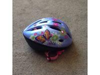 Girls cycle helmet (size S)