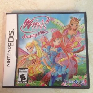 Winx DS game