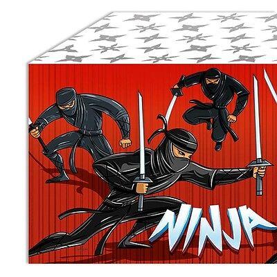 Tischdecke Ninja, aus Kunststofffolie, 137cm x 243cm ()