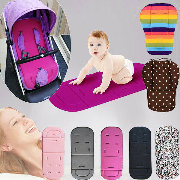 Universal Baby Stroller Soft Cushion Pram Pushchair Car Seat Kids Liner Pad Mat