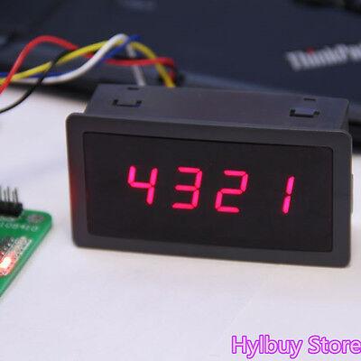 Panel Led Segment Displays Module 74hc595 4-bit Red Digital Tube For Avr Arduino