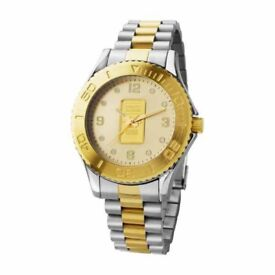 Brand New - Suisse Ingot Gold Watch with a 2year guarantee (RRP £400)