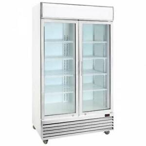LG -1000ge 2 door Commercial upright fridge 1000ltr As new Mermaid Waters Gold Coast City Preview