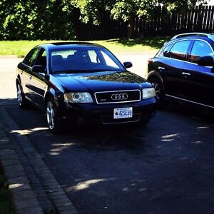 2003 Audi A6 high Kms as is e test still valid